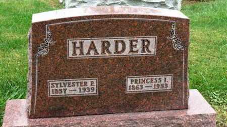 HARDER, PRINCESS I. - Marion County, Ohio | PRINCESS I. HARDER - Ohio Gravestone Photos