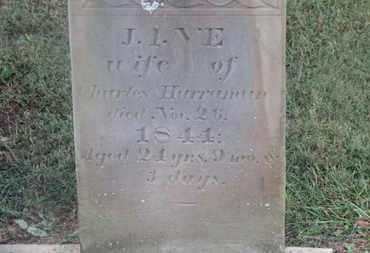 HARRAMAN, JANE - Marion County, Ohio | JANE HARRAMAN - Ohio Gravestone Photos