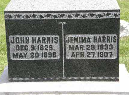HARRIS, JEMIMA - Marion County, Ohio | JEMIMA HARRIS - Ohio Gravestone Photos