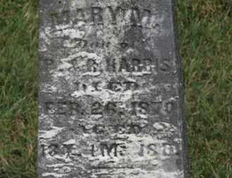 HARRIS, MARY M. - Marion County, Ohio   MARY M. HARRIS - Ohio Gravestone Photos