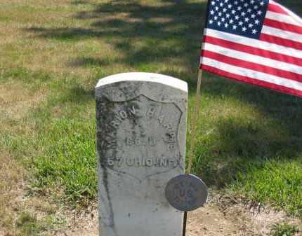HARRIS, MARION - Marion County, Ohio   MARION HARRIS - Ohio Gravestone Photos