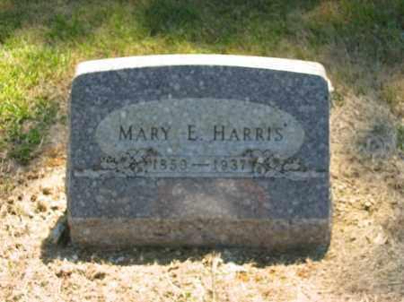 HARRIS, MARY E. - Marion County, Ohio   MARY E. HARRIS - Ohio Gravestone Photos
