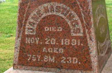 HASTINGS, JANE - Marion County, Ohio | JANE HASTINGS - Ohio Gravestone Photos