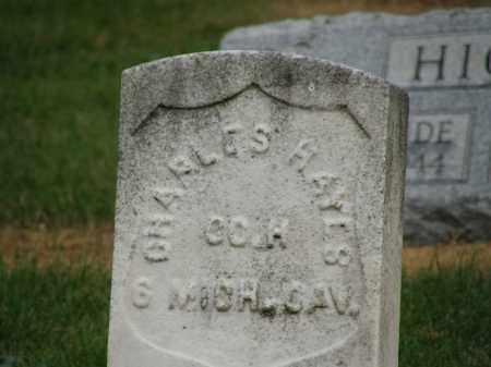 HAYES, CHARLES - Marion County, Ohio   CHARLES HAYES - Ohio Gravestone Photos