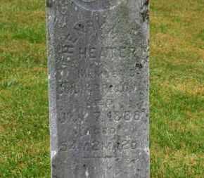 HEATER, HEBRY M. - Marion County, Ohio | HEBRY M. HEATER - Ohio Gravestone Photos