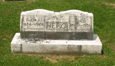 HERO, FRED - Marion County, Ohio | FRED HERO - Ohio Gravestone Photos