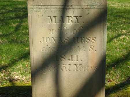 HESS, MARY - Marion County, Ohio | MARY HESS - Ohio Gravestone Photos
