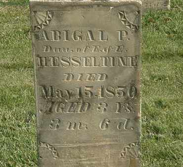 HESSELTINE, E. - Marion County, Ohio | E. HESSELTINE - Ohio Gravestone Photos