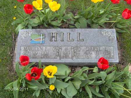 HILL, DARYL EVERETT - Marion County, Ohio | DARYL EVERETT HILL - Ohio Gravestone Photos