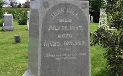 HILL, JOHN - Marion County, Ohio   JOHN HILL - Ohio Gravestone Photos