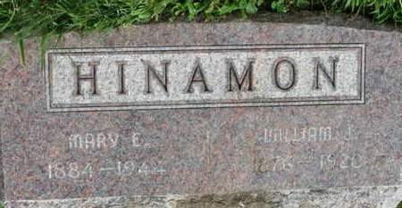 HINAMON, MARY E. - Marion County, Ohio | MARY E. HINAMON - Ohio Gravestone Photos