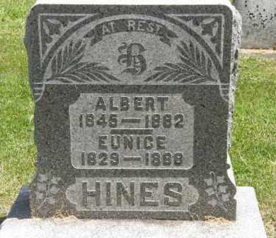 HINES, EUNICE - Marion County, Ohio | EUNICE HINES - Ohio Gravestone Photos