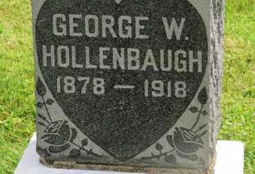HOLLENBAUGH, GEORGE W. - Marion County, Ohio | GEORGE W. HOLLENBAUGH - Ohio Gravestone Photos