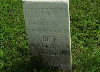 HOLMES, NANCY M. - Marion County, Ohio   NANCY M. HOLMES - Ohio Gravestone Photos