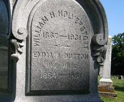 DUTTON HOLVERSTOTT, EMMA A. - Marion County, Ohio | EMMA A. DUTTON HOLVERSTOTT - Ohio Gravestone Photos