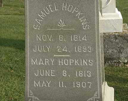HOPKINS, SAMUEL - Marion County, Ohio | SAMUEL HOPKINS - Ohio Gravestone Photos