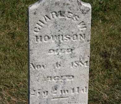 HOWISON, CHARLES - Marion County, Ohio | CHARLES HOWISON - Ohio Gravestone Photos