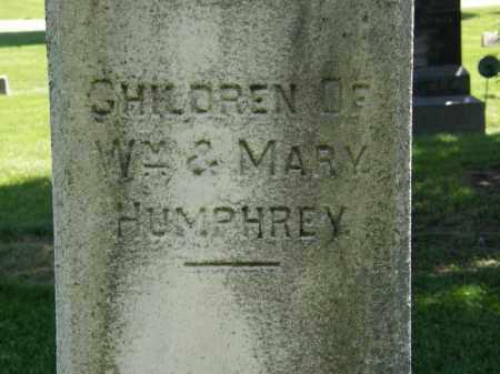 HUMPHREY, MARY - Marion County, Ohio   MARY HUMPHREY - Ohio Gravestone Photos