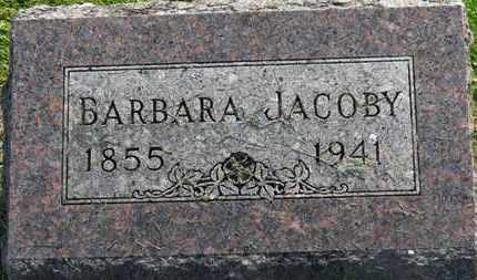 JACOBY, BARBARA - Marion County, Ohio | BARBARA JACOBY - Ohio Gravestone Photos
