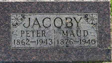 JACOBY, PETER - Marion County, Ohio | PETER JACOBY - Ohio Gravestone Photos