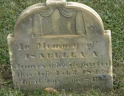 JAMES, ISABELLA A. - Marion County, Ohio | ISABELLA A. JAMES - Ohio Gravestone Photos