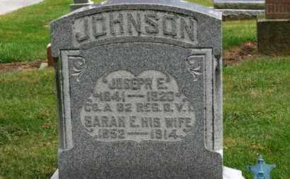 JOHNSON, JOSEPH E. - Marion County, Ohio | JOSEPH E. JOHNSON - Ohio Gravestone Photos