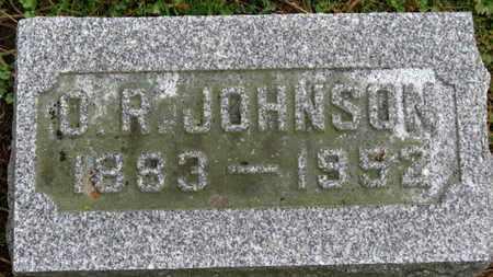 JOHNSON, O.R. - Marion County, Ohio | O.R. JOHNSON - Ohio Gravestone Photos
