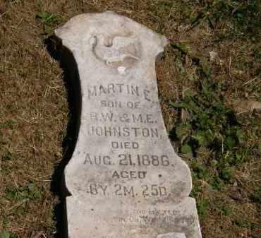 JOHNSTON, R.W. - Marion County, Ohio | R.W. JOHNSTON - Ohio Gravestone Photos