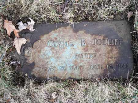 JOLLIFF, CLYDE BERTRAM - Marion County, Ohio | CLYDE BERTRAM JOLLIFF - Ohio Gravestone Photos