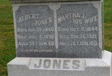 JONES, MARTHA J. - Marion County, Ohio | MARTHA J. JONES - Ohio Gravestone Photos