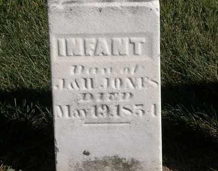 JONES, INFANT - Marion County, Ohio | INFANT JONES - Ohio Gravestone Photos