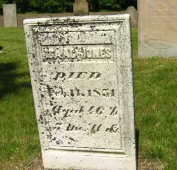 JONES, ISAAC - Marion County, Ohio   ISAAC JONES - Ohio Gravestone Photos