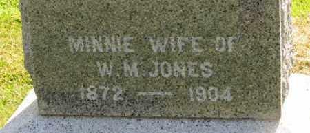 JONES, W.M. - Marion County, Ohio | W.M. JONES - Ohio Gravestone Photos