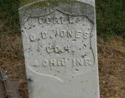 JONES, O.D. CORPL. - Marion County, Ohio | O.D. CORPL. JONES - Ohio Gravestone Photos