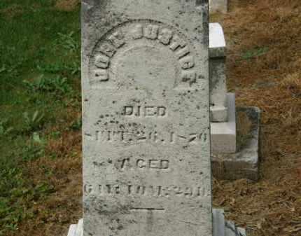 JUSTICE, JOHN - Marion County, Ohio   JOHN JUSTICE - Ohio Gravestone Photos