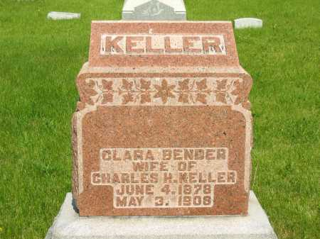 BENDER KELLER, CLARA - Marion County, Ohio   CLARA BENDER KELLER - Ohio Gravestone Photos