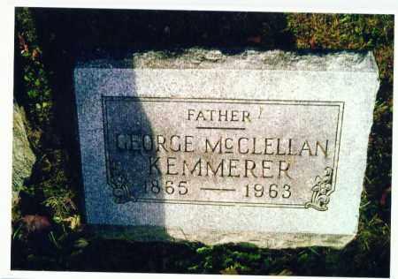 KEMMERER, GEORGE - Marion County, Ohio   GEORGE KEMMERER - Ohio Gravestone Photos