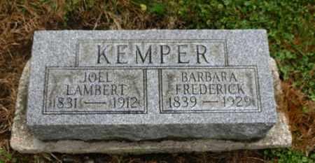 KEMPER, BARBARA - Marion County, Ohio | BARBARA KEMPER - Ohio Gravestone Photos