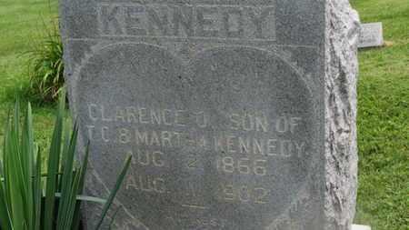 KENNEDY, CLARENCE O. - Marion County, Ohio | CLARENCE O. KENNEDY - Ohio Gravestone Photos