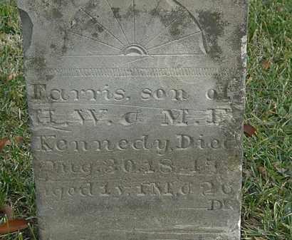 KENNEDY, FARRIS - Marion County, Ohio | FARRIS KENNEDY - Ohio Gravestone Photos