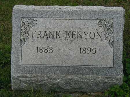KENYON, FRANK - Marion County, Ohio | FRANK KENYON - Ohio Gravestone Photos