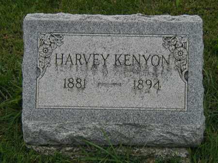 KENYON, HARVEY - Marion County, Ohio | HARVEY KENYON - Ohio Gravestone Photos