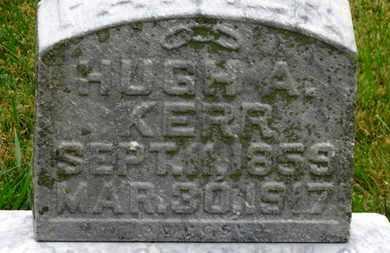 KERR, HUGH A. - Marion County, Ohio   HUGH A. KERR - Ohio Gravestone Photos