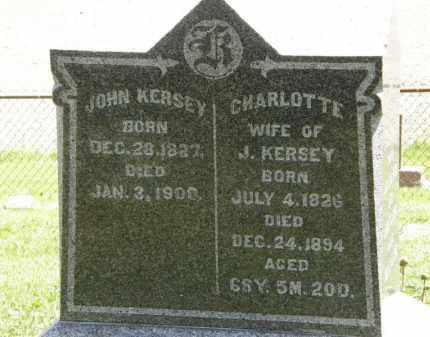 KERSEY, JOHN - Marion County, Ohio   JOHN KERSEY - Ohio Gravestone Photos