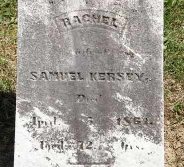 KERSEY, RACHEL - Marion County, Ohio   RACHEL KERSEY - Ohio Gravestone Photos