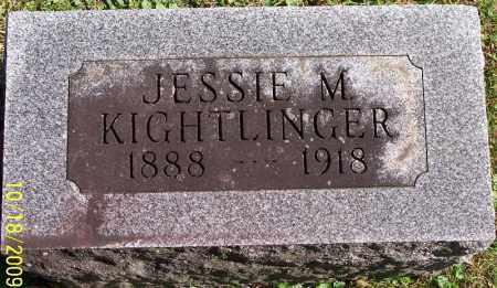 KIGHTLINGER, JESSIE - Marion County, Ohio | JESSIE KIGHTLINGER - Ohio Gravestone Photos