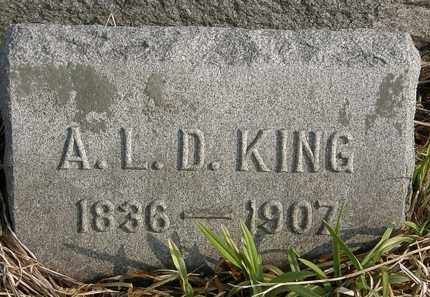 KING, A.L.D. - Marion County, Ohio | A.L.D. KING - Ohio Gravestone Photos