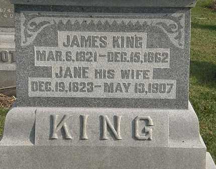 KING, JAMES - Marion County, Ohio | JAMES KING - Ohio Gravestone Photos