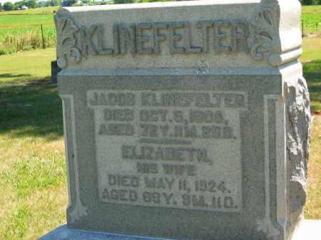 KLINEFELTER, JACOB - Marion County, Ohio | JACOB KLINEFELTER - Ohio Gravestone Photos