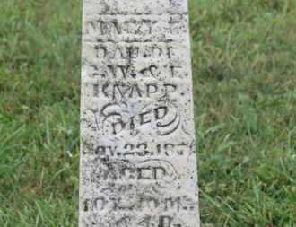 KNAPP, E. - Marion County, Ohio | E. KNAPP - Ohio Gravestone Photos